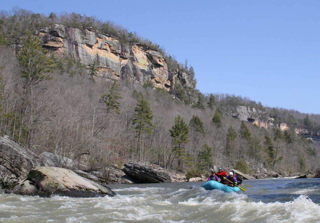 Whitewater Rafting on the Big South Fork River