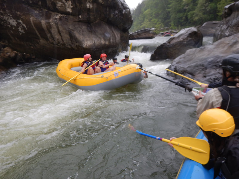 Rafting on the Big South Fork River